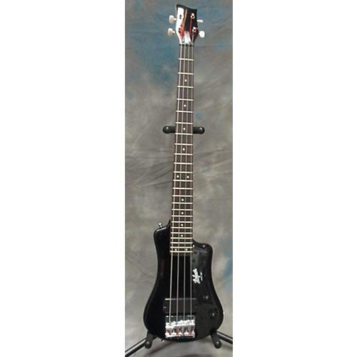 Hofner Shorty Electric Bass Black Electric Bass Guitar-thumbnail