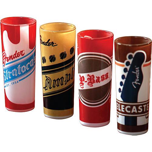 Fender Shot Glass, Fender Origins, Set of 4-thumbnail
