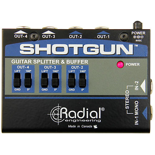 Radial Engineering Shotgun 4 Channel Amp Driver-thumbnail