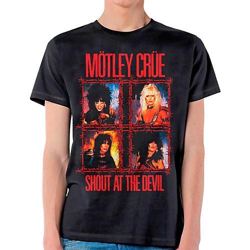 Motley Crue Shout Wire T-Shirt-thumbnail