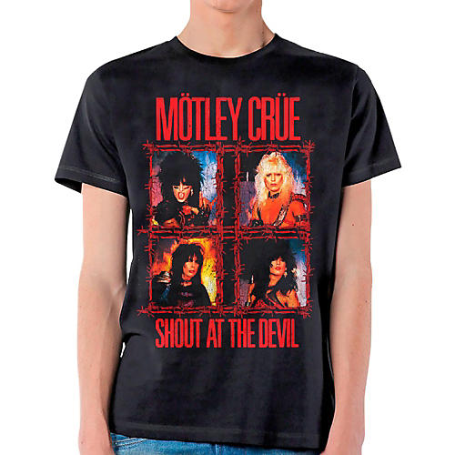 Motley Crue Shout Wire T-Shirt