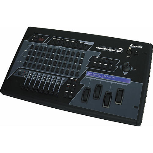 Elation Show Designer 2CF DMX Controller with CompactFlash Drive