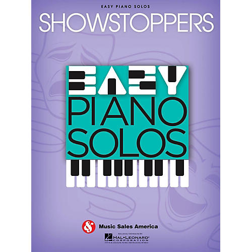 Music Sales Showstoppers - Easy Piano Solos Series-thumbnail