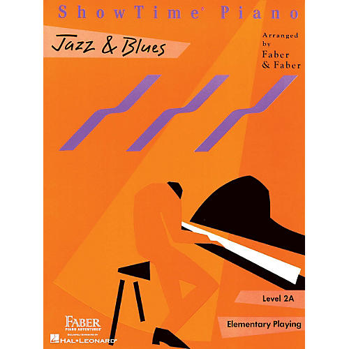 Faber Piano Adventures Showtime Jazz & Blues Level 1B-2A Faber Piano Adventures-thumbnail