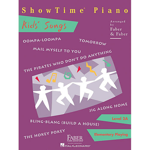 Faber Piano Adventures Showtime Kids' Songs Level 2A Faber Piano Adventures-thumbnail