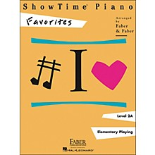 Faber Piano Adventures Showtime Piano Favorites Book Level 2A - Faber Piano