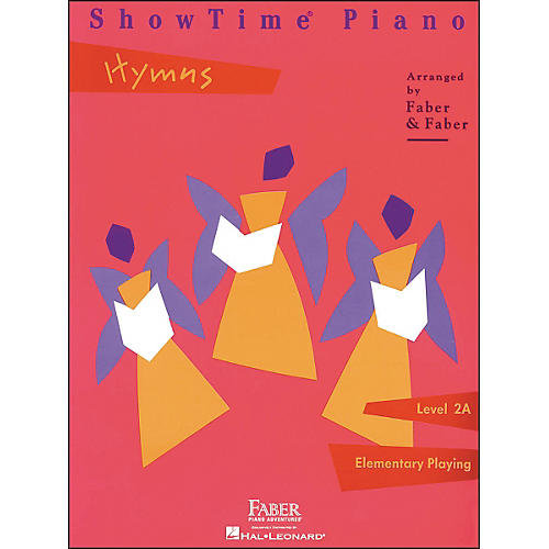 Faber Piano Adventures Showtime Piano Hymns Book Level 2A Elementary Playing - Faber Piano-thumbnail