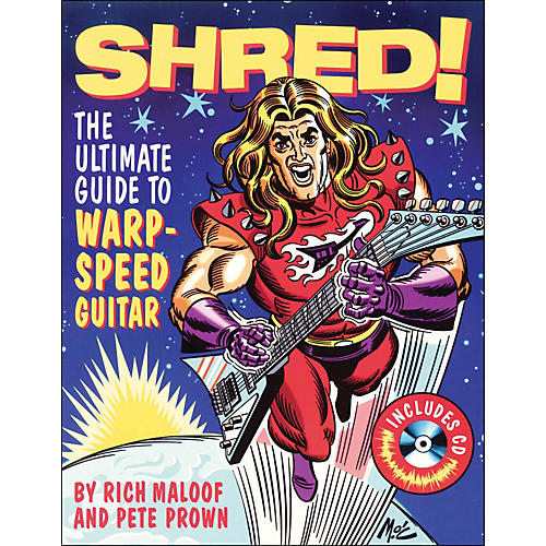 Backbeat Books Shred - The Ultimate Guide To Warp Speed