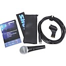 Shure PG58-QTR Dynamic Microphone with XLR to 1/4