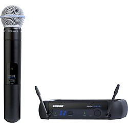 Shure PGXD24/Beta58A Digital Wireless System with Beta 58A Mic (PGXD24/BETA58-X8)