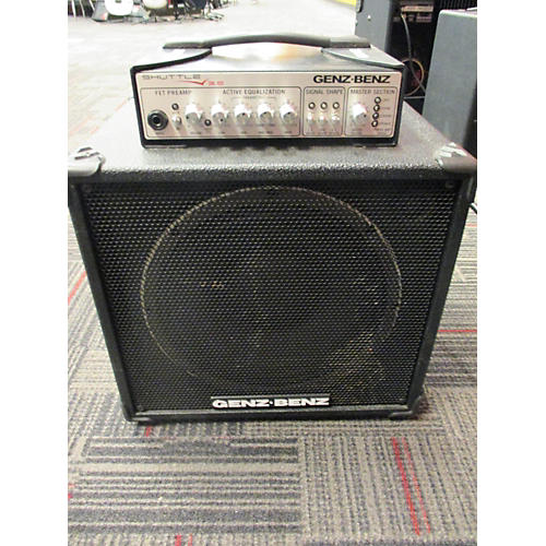 used genz benz shuttle 3 0 300w 1x10 bass combo amp guitar center. Black Bedroom Furniture Sets. Home Design Ideas
