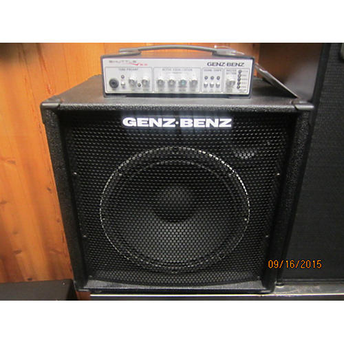 Genz Benz Shuttle 6.0 600 Bass Combo Amp