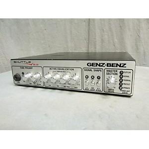 Pre-owned Genz Benz Shuttle 6.0 600 Watt Bass Amp Head by Genz Benz