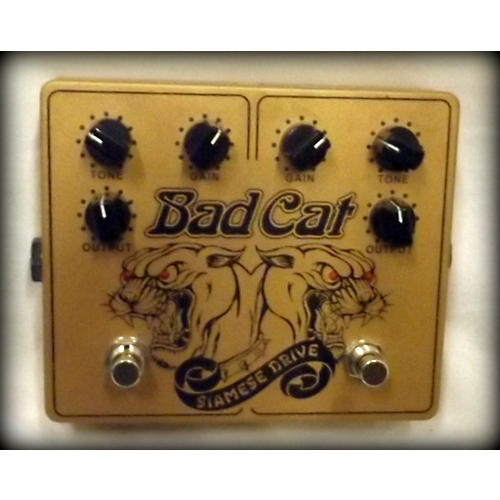 Bad Cat Siamese Dual Drive Overdrive Pedal-thumbnail