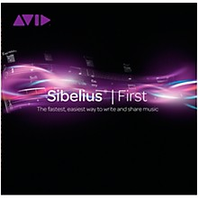 Avid Sibelius|First Music Notation Software