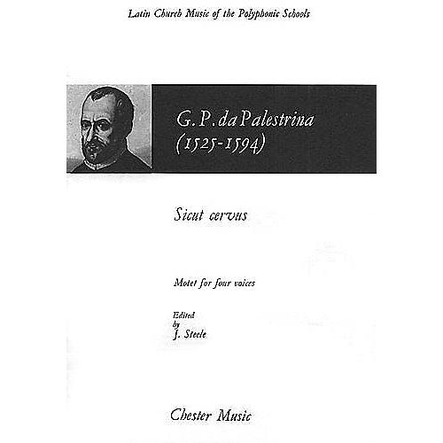 Chester Music Sicut Cervus CHORAL SCORE Composed by Giovanni de Palestrina