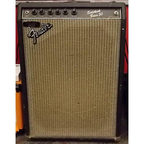 Fender Sidekick 50 Bass Combo Amp-thumbnail