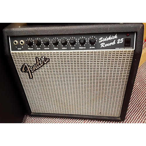 Fender Sidekick Reverb 25 Guitar Combo Amp