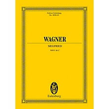 Eulenburg Siegfried (Hardbound, Study Score) Study Score Series Hardcover Composed by Richard Wagner