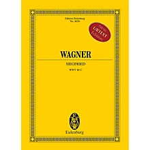 Eulenburg Siegfried (Study Score) Study Score Series Softcover Composed by Richard Wagner Edited by Egon Voss