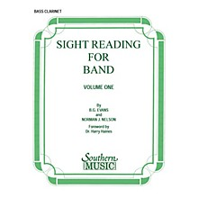 Southern Sight Reading for Band, Book 1 (Bass Clarinet) Southern Music Series Composed by Billy Evans