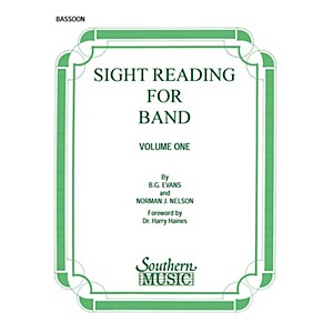 Southern Sight Reading for Band, Book 1 Bassoon Southern Music Series by ...