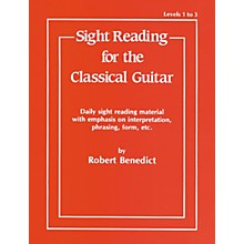 Alfred Sight Reading for the Classical Guitar Level I-III