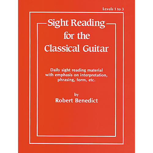 Alfred Sight Reading for the Classical Guitar Level I-III-thumbnail