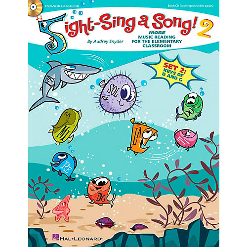 Hal Leonard Sight-Sing a Song! (Set 2) More Music Reading for the Elementary Classroom Book/CD-thumbnail