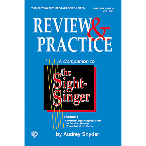 Alfred Sight-Singer: Review and Practice for Two-Part Mixed and Three-Part Mixed Voices Student Edition-thumbnail