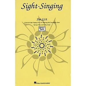 Hal Leonard Sight Singing For SSA Singer Edition Practical Course For Beg &... by Hal Leonard