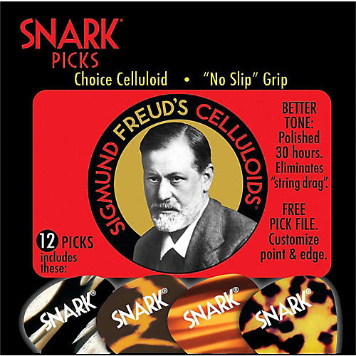 Snark Sigmund Freud Celluloid Guitar Picks-thumbnail