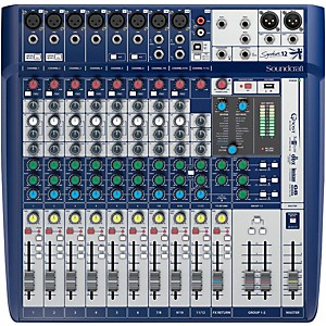 Soundcraft Signature 12 Analog Mixer by Soundcraft
