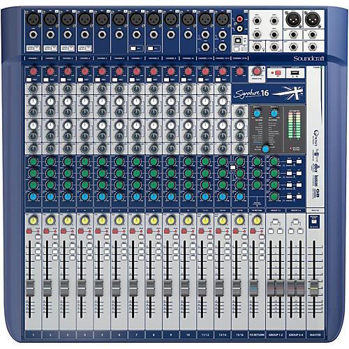 Soundcraft Signature 16 Analog Mixer-thumbnail