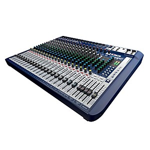 Soundcraft Signature 22 22-Input Analog Mixer with Effects by Soundcraft
