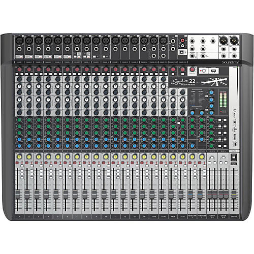 Soundcraft Signature 22MTK 22-Channel Multi-Track Mixer-thumbnail