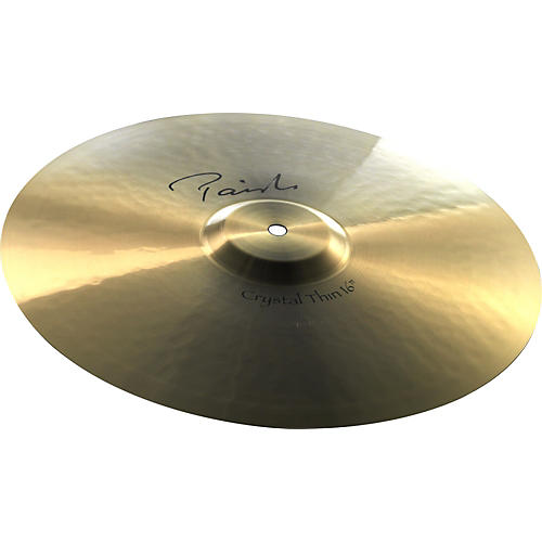Paiste Signature Crystal Thin Crash Cymbal-thumbnail