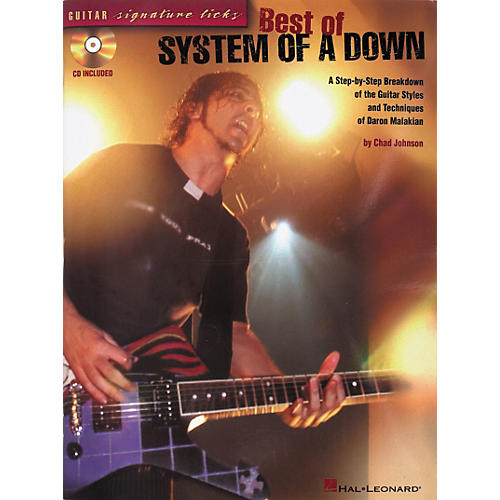 Hal Leonard Signature Licks Best of System of A Down Guitar Tab Songbook with CD