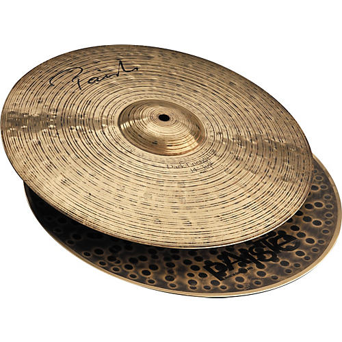 Paiste Signature Series Dark Energy MKI Hi-Hat Cymbal Pair