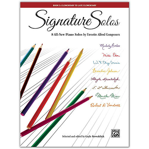 Alfred Signature Solos, Book 2 Elementary / Late Elementary