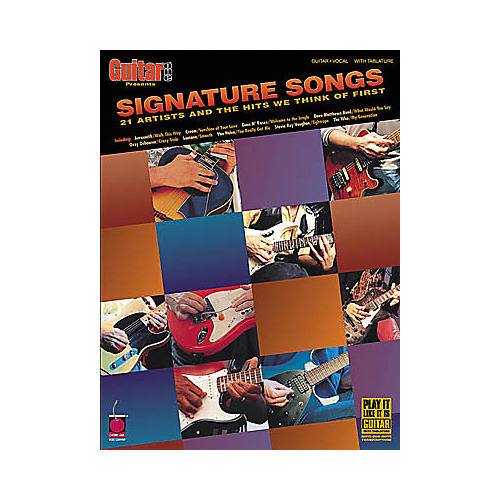 Cherry Lane Signature Songs Guitar Tab Songbook-thumbnail