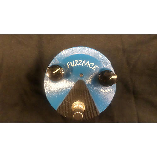 Dunlop Silicon Fuzz Face Mini Blue Effect Pedal-thumbnail