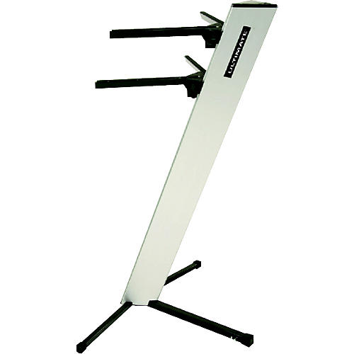 Ultimate Support Silver AX48S Apex Column Keyboard Stand-thumbnail
