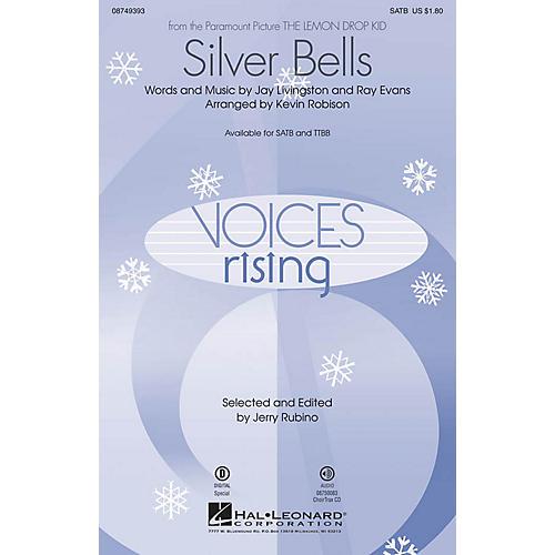 Hal Leonard Silver Bells CHOIRTRAX CD Arranged by Kevin Robison
