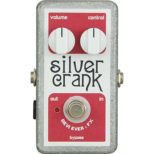 Devi Ever Silver Crank Fuzz Guitar Effects Pedal