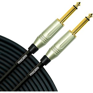 Mogami Silver Series 1/4 inch Straight Instrument Cable