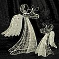 Gifts of Note Silver Wire Angel thumbnail