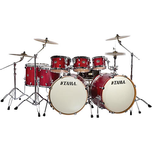 Tama Silverstar 8-Piece Double Bass Drum Shell Pack-thumbnail