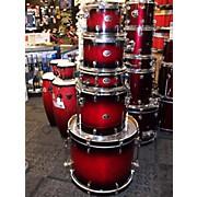 Silverstar All Birch Shell Drum Kit