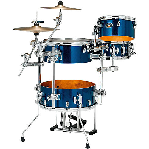 tama silverstar cocktail jam 4 piece kit with bass drum pedal and emad bass drum head guitar. Black Bedroom Furniture Sets. Home Design Ideas